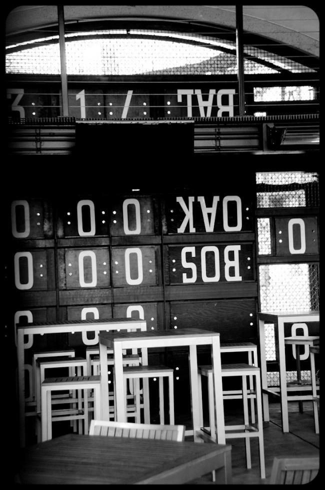 Outfield Scoreboards